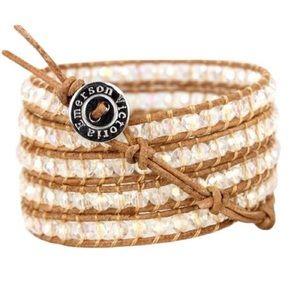 VICTORIA EMERSON wrap bracelet.
